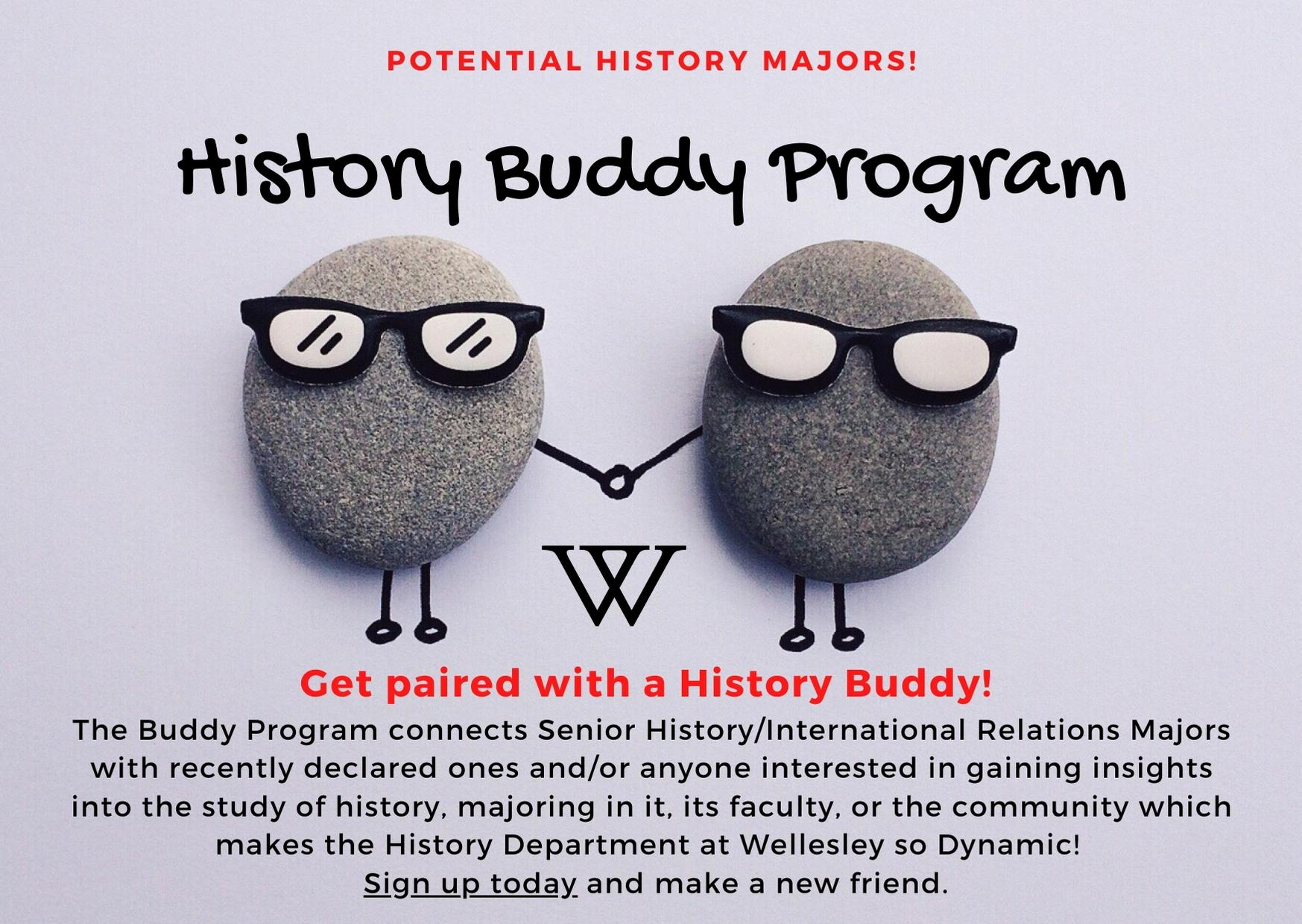 History Buddy Program