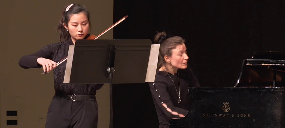 Music Department's Honors Concerts on Friday, 2/26 at 7:30pm and Saturday, 2/27 at 7:30pm