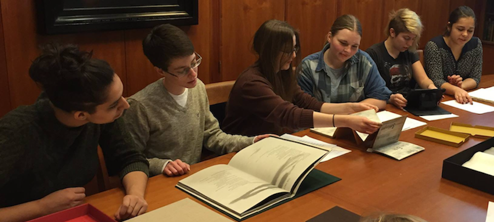 Classics Course visiting Special Collections?