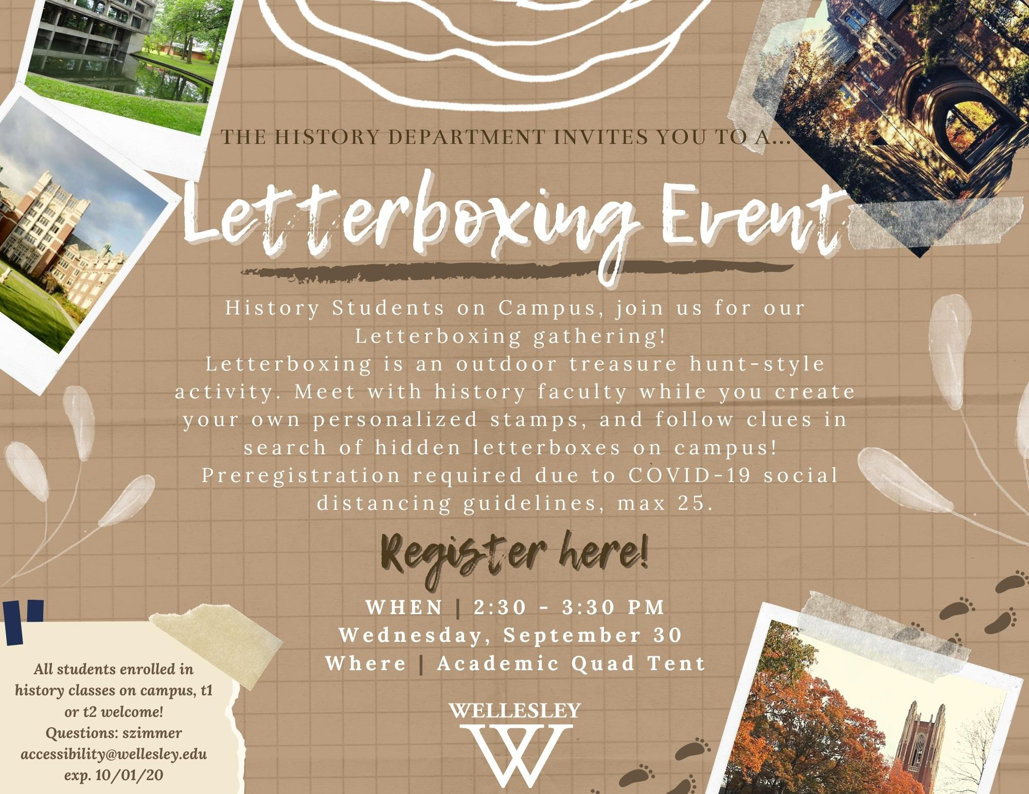 Letterboxing event