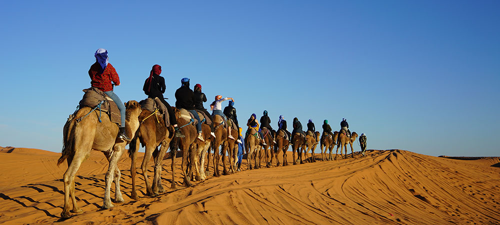 Wellesley College student trip to Morocco