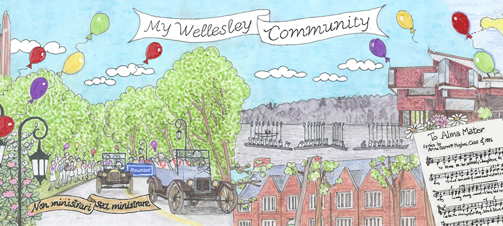 Visit the new My Wellesley Community on alum.wellesley.edu