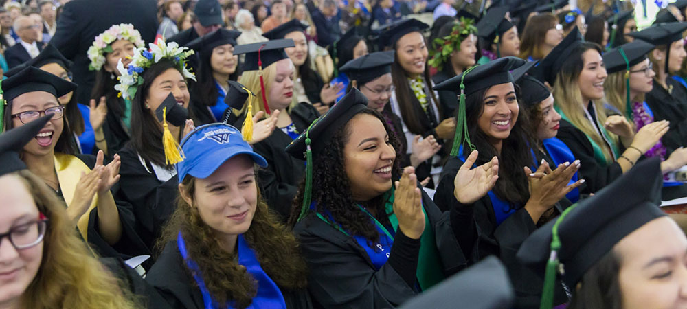 Graduates applaud
