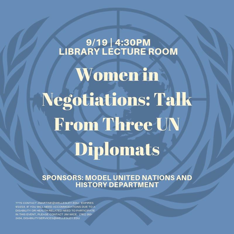 UN Negotiations Talk