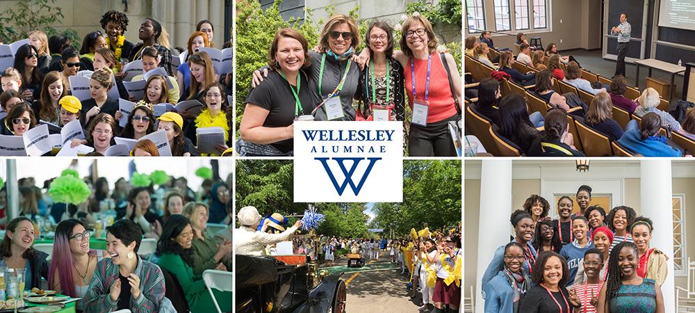 Wellesley Alumnae Banner