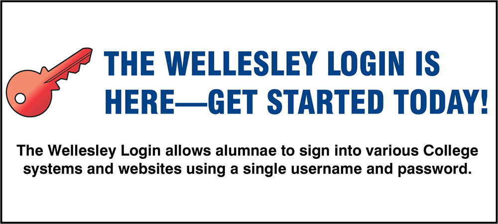 Set up your Wellesley Login today!