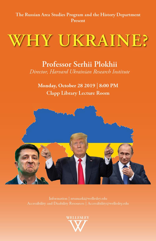 Why Ukraine?
