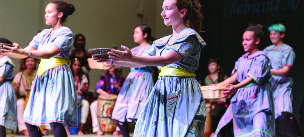 Yanvalou Drum and Dance Ensemble - Saturday, 5/22 at 7:30pm in Jewett Arts Center Auditorium.