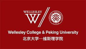 logo of Wellesley and PKU partnership