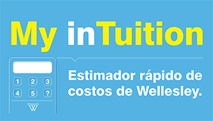 graphic: My inTuition: Estimador rapido de costos de Wellesley