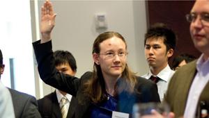 Wellesley's Katherine Jordan at Japan-America event
