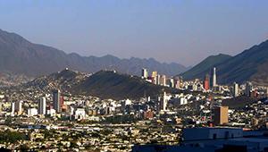 panoramic view of Monterrey