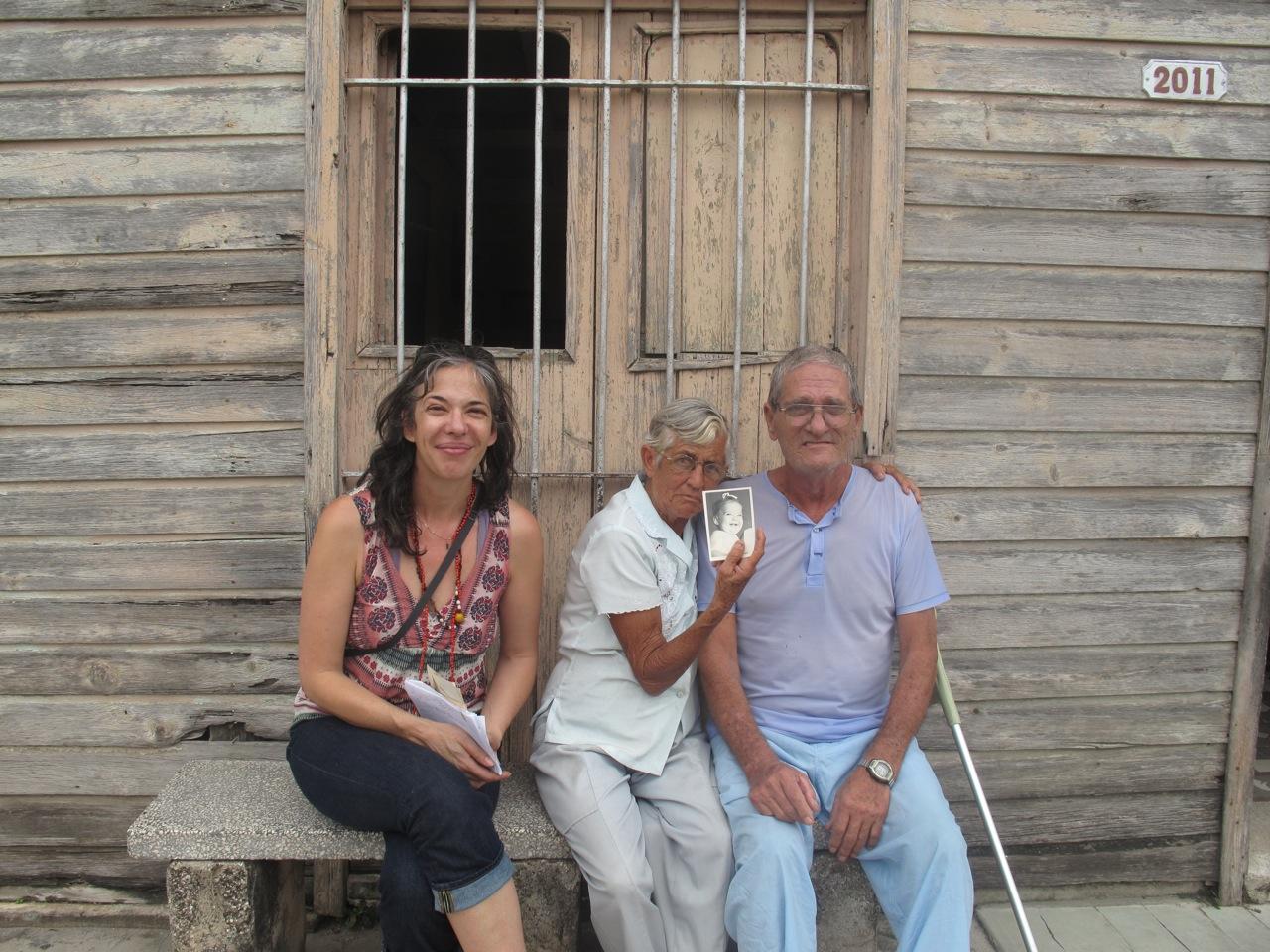 Melinda Lopez visited Cuba.