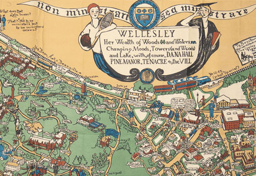 The Campus Map | Wellesley College