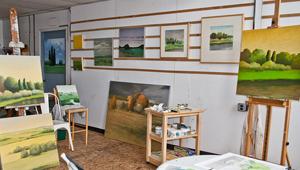 Rayen's studio