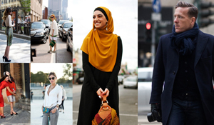 collage of Sartorialist photos
