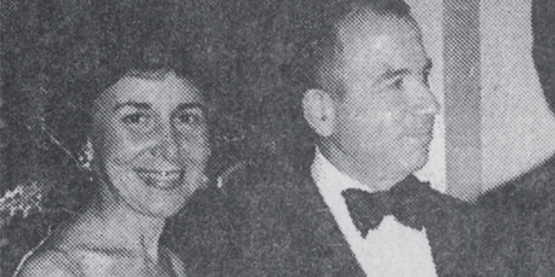 Suzy and her husband in 1991