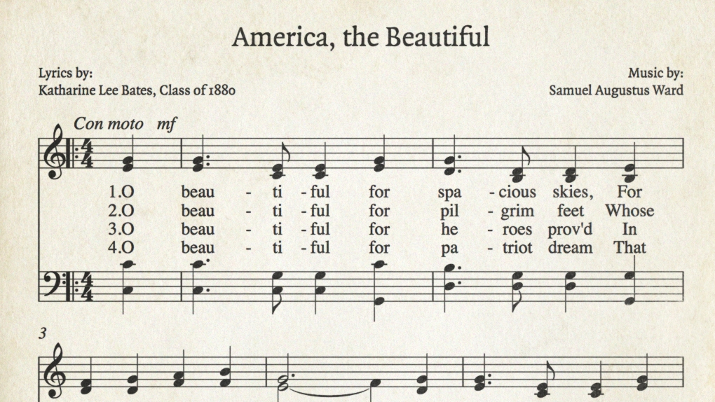 America, the Beautiful lyrics