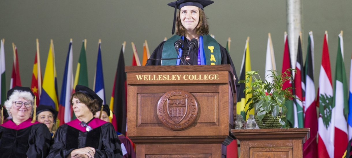 Marley Forest '18 Gives Student Address