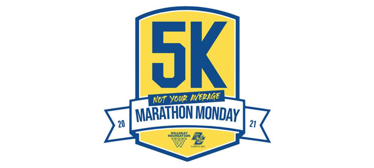 Not Your Average Marathon Monday Virtual 5K