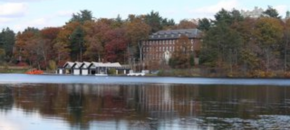 Photo of Wellesley College Boat House taken by Andrea Verdelli