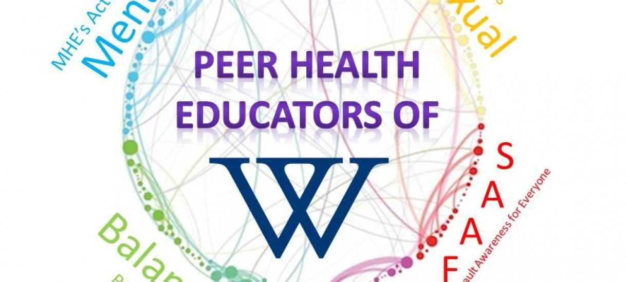 map of peer health educator group