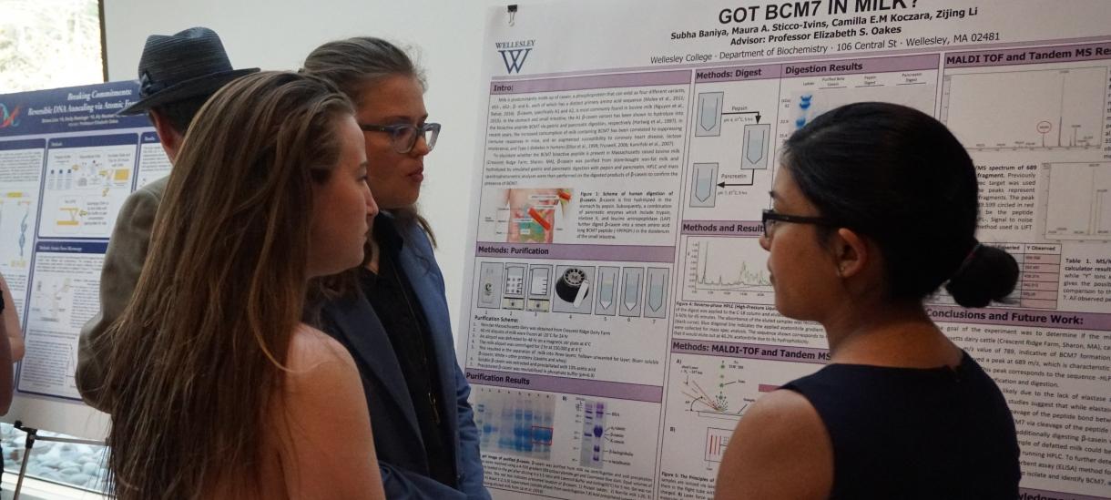 Student presentation at Ruhlman conference