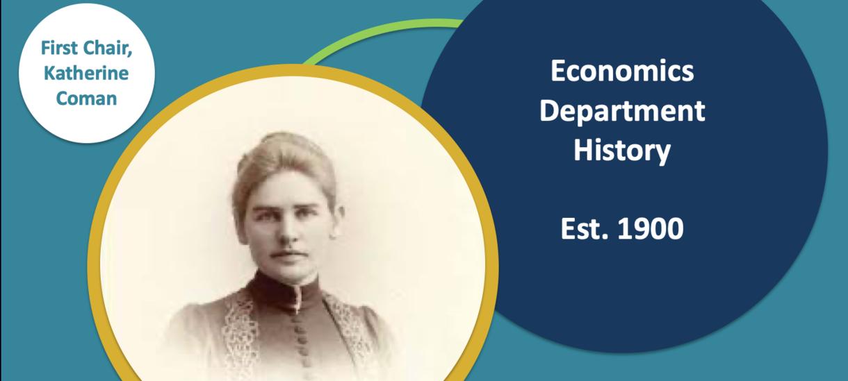Economics Department Est. 1900, First Chair, Katherine Coman
