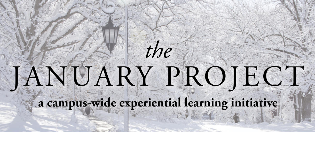 The January Project: A campus-wide experiential learning initiative