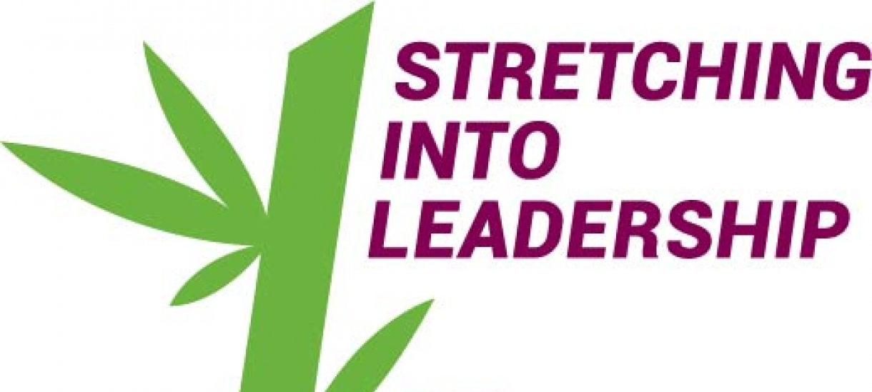 Stretching Into Leadership Logo
