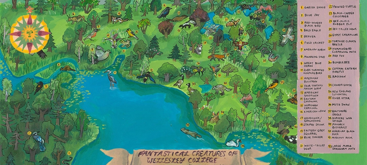 Fantastical Creatures Map