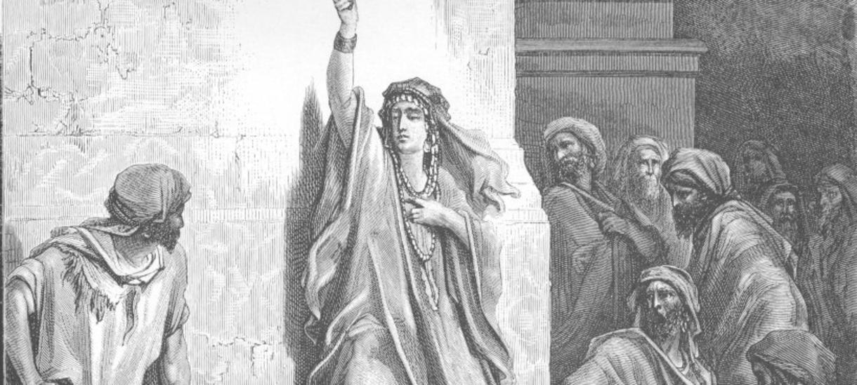 Deborah (engraving by Gustave Dore)