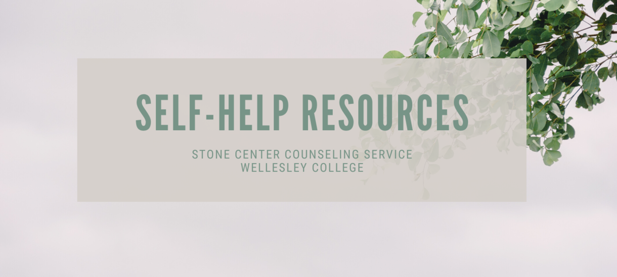 eucalyptus branch image. self-help resources banner