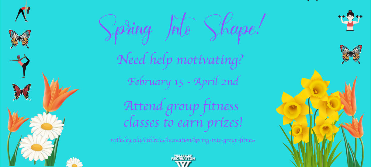 Spring Into Group Fitness