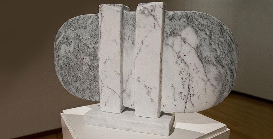 granite sculpture by Wendy Chen