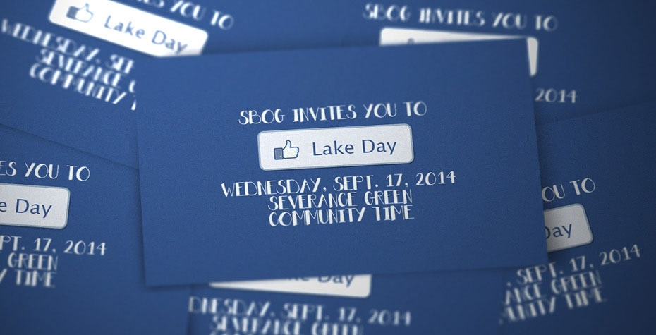 Graphics announcing Lake Day September 17
