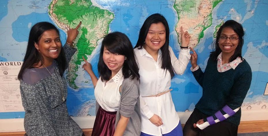 4 Watson nominees point to different locations on world map