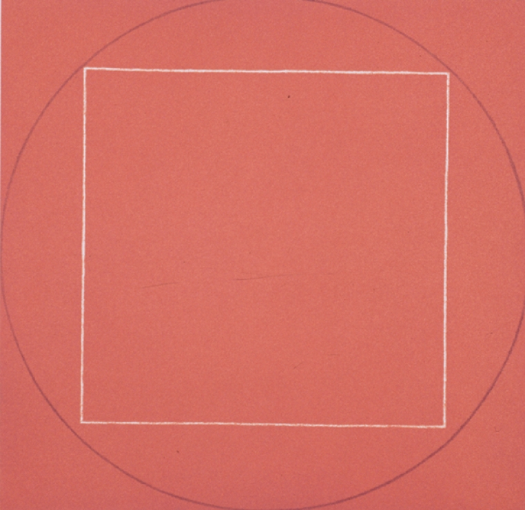 Robert Mangold, Untitled (detail), 1973. Aquatint on medium weight, white wove paper, 26 15/16 x 22 in. Museum purchase, 2003.58.2