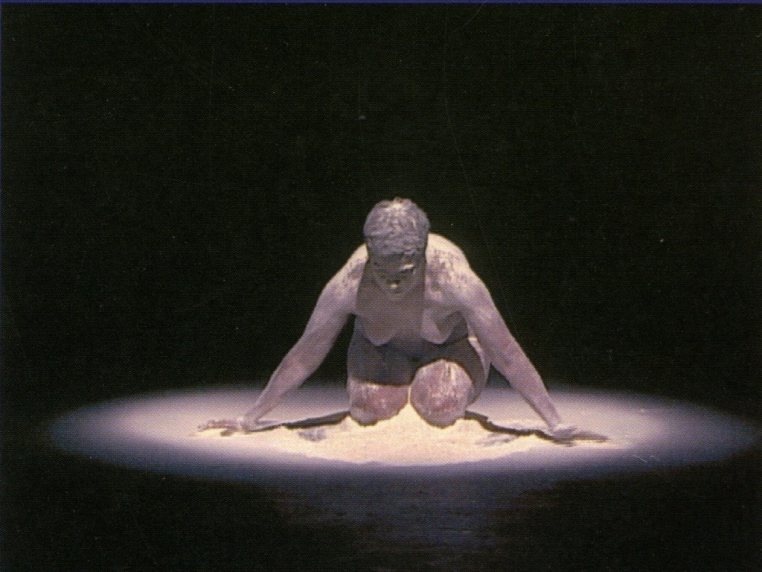 Bernadette Searle, still from Snow White, 2001. Video projection. Courtesy of Bernadette Searle and Axis Gallery, New York