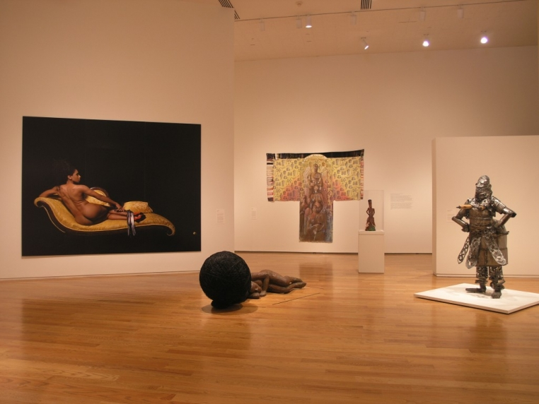 Installation view, Black Womanhood: Images, Icons, and Ideologies of the African Body, 2008.