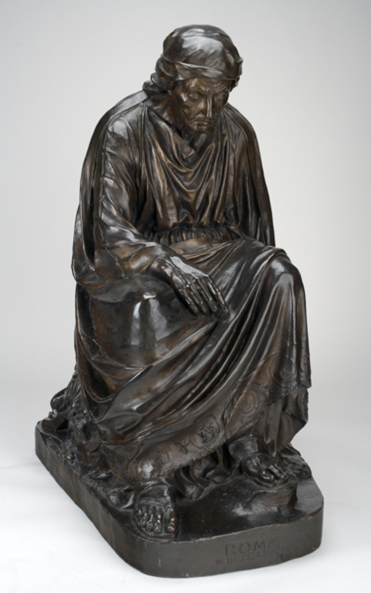 Anne Whitney, Roma, 1869. Bronze, 27 x 15 1/2 x 20 in. Gift to the College by the Class of 1886, 1891.1