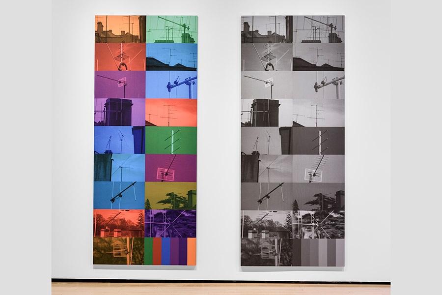 Annette Lemieux's THE WATCHERS on exhibit