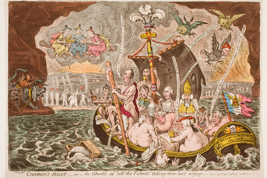 A Critical Eye James Gillray And The Art Of Satire Wellesley