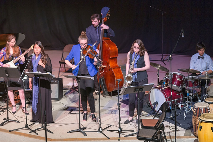 Group image of Wellesley BlueJazz in concert