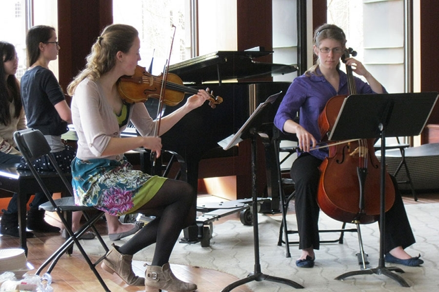 Wellesley College Chamber Music Society performance
