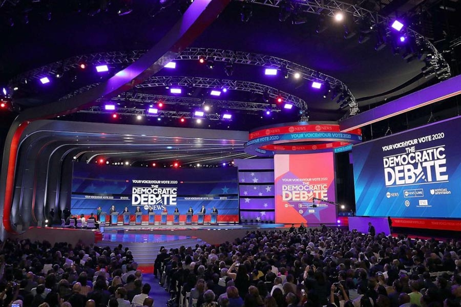 Democratic candidates take the stage for third primary debate