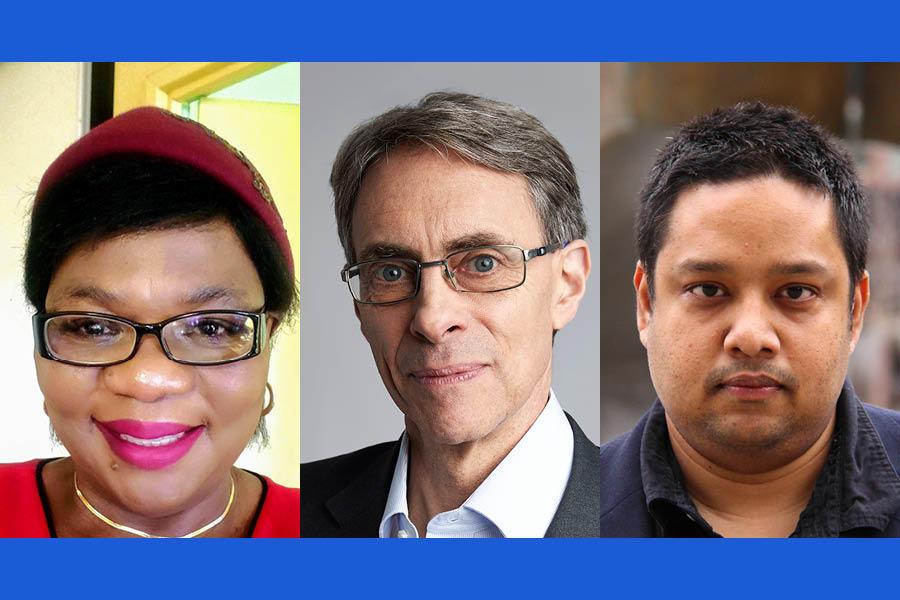 Ms. Farai Gonzo, Kenneth Roth, Dr. Mubashar Hasan