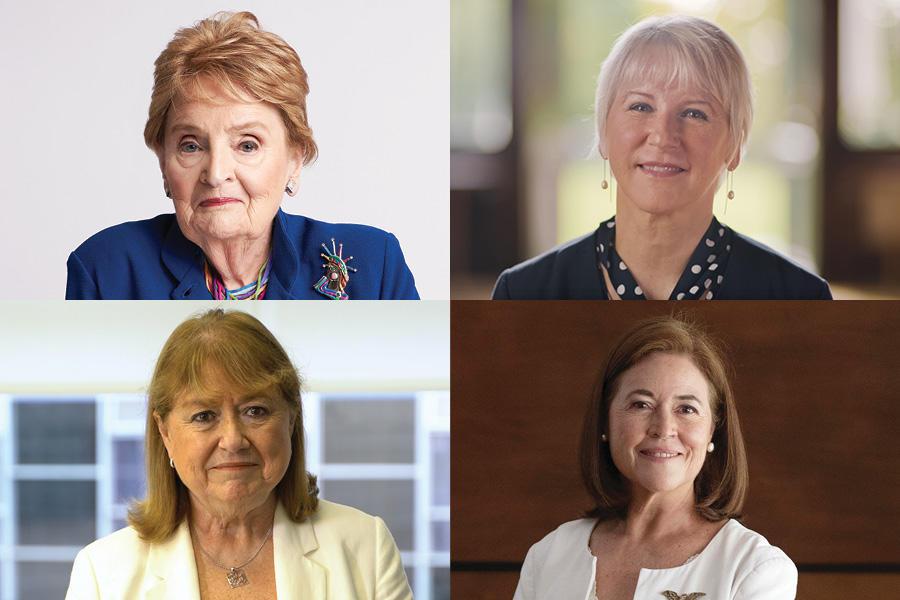 Madeleine K. Albright, Margot Wallström, Susana Malcorra, María Eugenia Brizuela de Ávila
