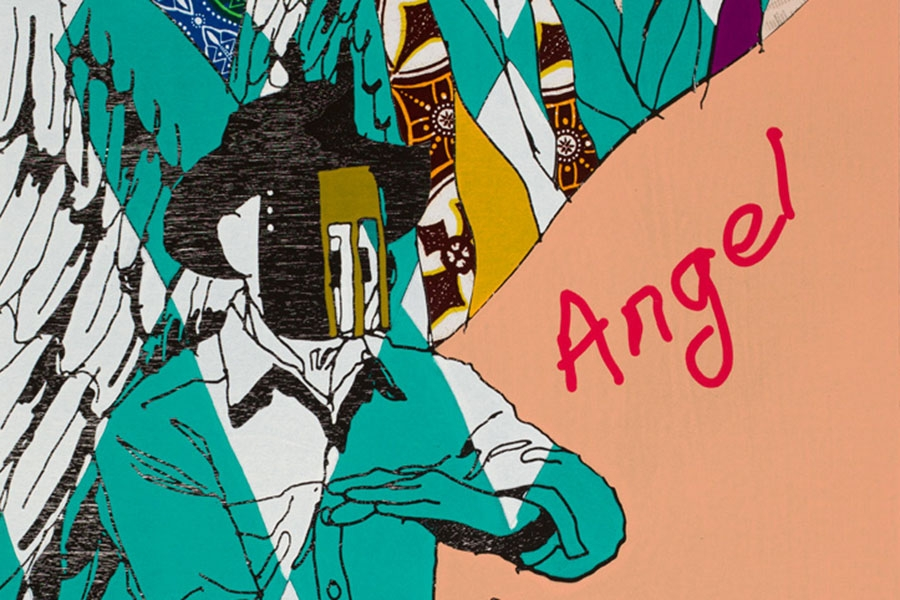 image of Yinka Shonibare's Cowboy Angel