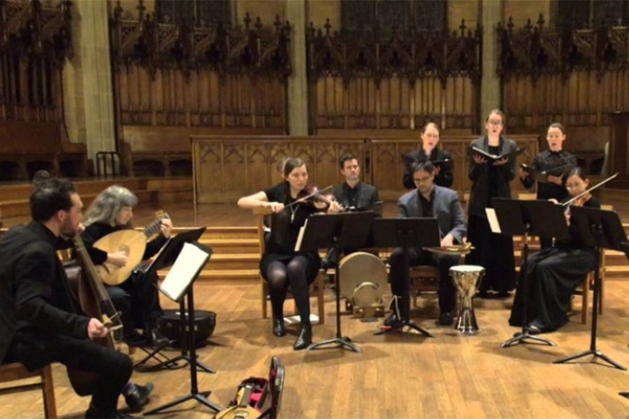 Wellesley College Collegium Musicum performance